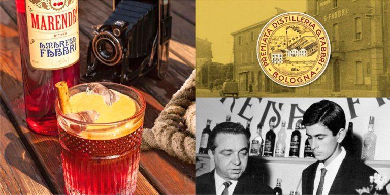 Representación de la historia de Fabbri Syrup
