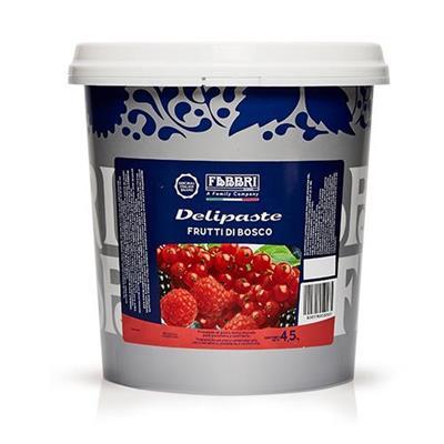 DELIPASTES FRUTALES FRUTOS DEL BOSQUE 4,5 kg fabbri