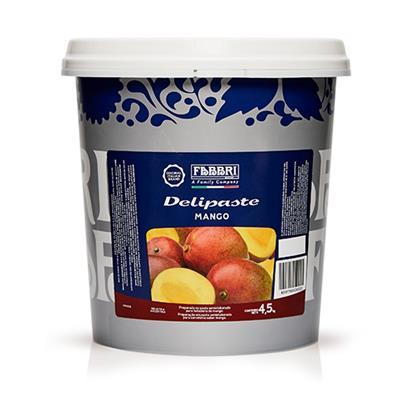 DELIPASTES FRUTALES MANGO 4,5 kg fabbri
