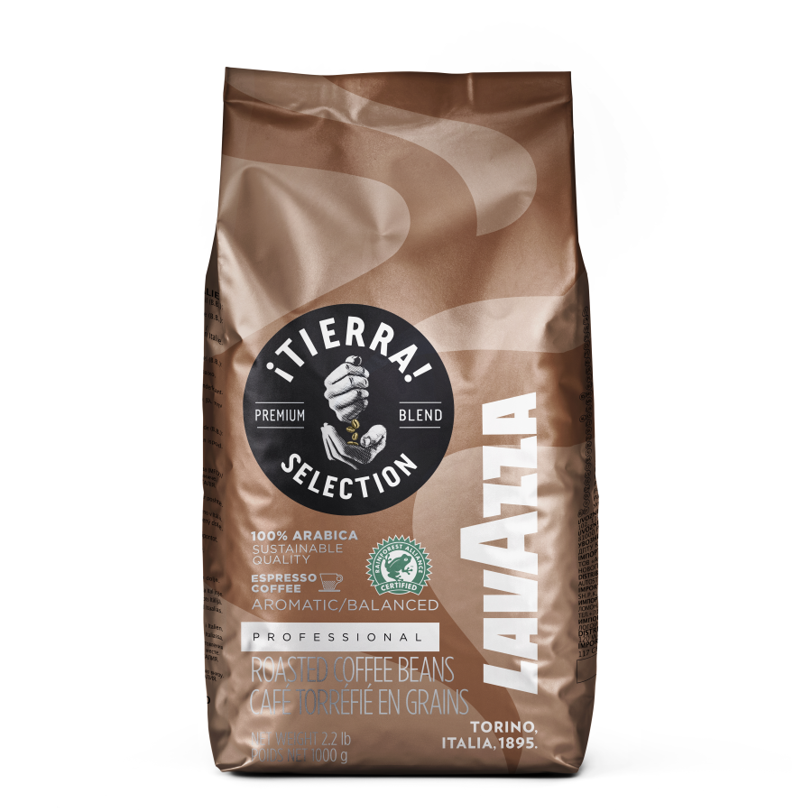 lavazza Tierra selection en grano 1 kg